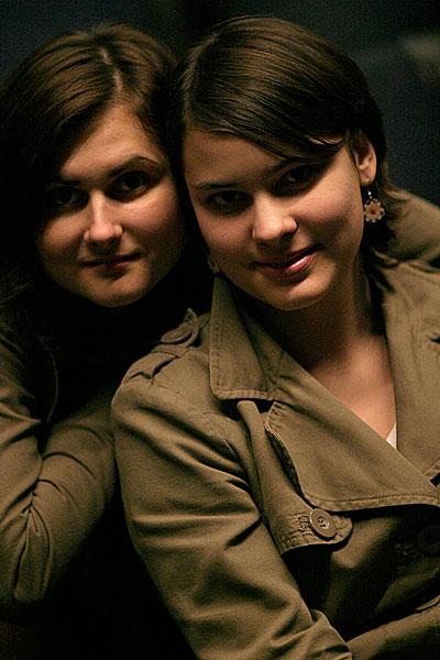 Полина и Женя