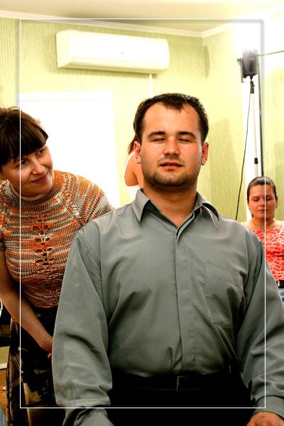 урок по эриксоновскому гипнозу для начинающих в школе NTRS (фото)