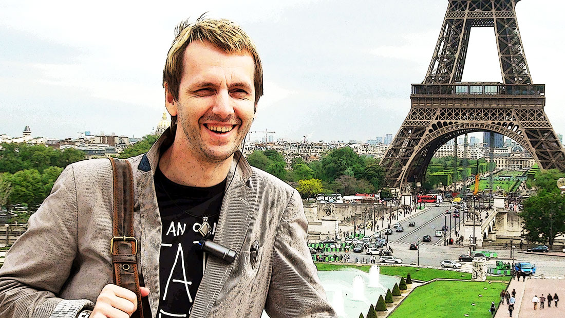 Саша Иванов - автор и ведущий проекта.